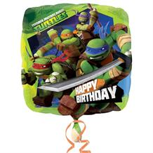 Teenage Mutant Ninja Turtles Happy Birthday Foil | Helium Balloon