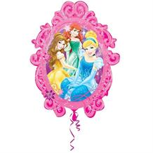 Disney Princesses Mirror Supershape Foil | Helium Balloon