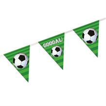 3D Soccer | Football Goal Foil Flag | Bunting Banner | Decoration