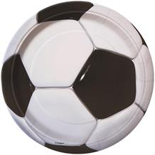 3D Soccer | Football Party Cake Plates