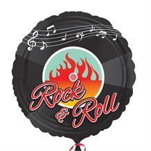 "1950's Rock & Roll 18"" Foil 