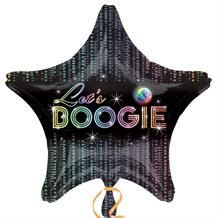 "1970's Let's Boogie 18"" Foil 