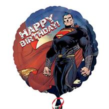 Superman Happy Birthday Foil | Helium Balloon