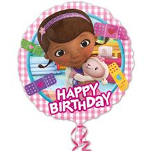 Doc McStuffins Happy Birthday Foil | Helium Balloon