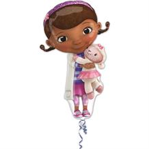 Doc McStuffins Shaped Foil | Helium Balloon