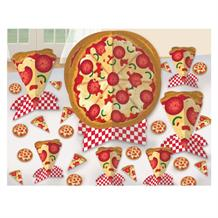 Pizza Party Table Decorating Kit (Centrepiece & Confetti)