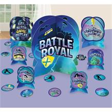 Battle Royal | Gaming Party Table Decorating Kit (Centrepiece & Confetti)