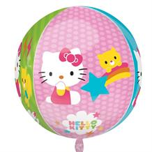 "Hello Kitty 15"" Sphere Shaped Foil 