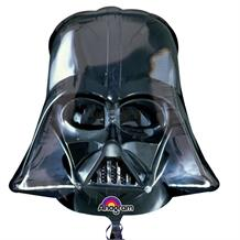 Darth Vader Head Shaped Foil | Helium Balloon