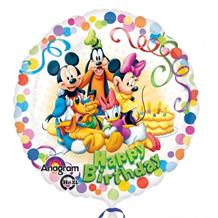 "Mickey Mouse and Friends Happy Birthday 18"" Foil 