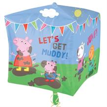 "Peppa Pig 15"" Cubez 4 Sided Foil 