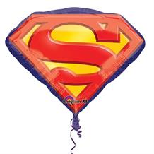 Superman Logo Foil | Helium Balloon