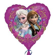 Disney Frozen Heart Shaped Foil | Helium Balloon