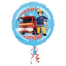 Fireman Sam Happy Birthday Foil | Helium Balloon