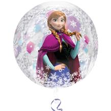 "Disney Frozen 15"" Clear Sphere Shaped Foil 