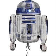 R2D2 | Star Wars Supershape Foil | Helium Balloon