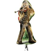 Chewbacca | Star Wars Supershape Foil | Helium Balloon