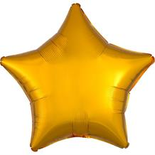 "Anagram Gold Unpackaged Plain Coloured Star 18"" Foil 