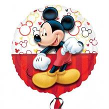 "Mickey Mouse Red 18"" Foil 