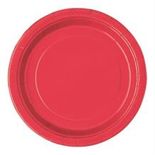 Red Big Value Catering Party Cake Plates (Bulk)