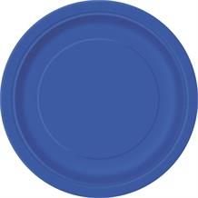 Royal Blue Party Cake Plates (Bulk)