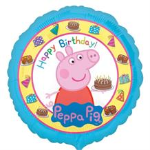 "Peppa Pig Happy Birthday 18"" Foil 