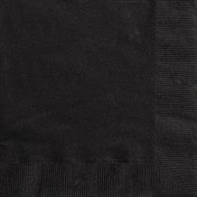 Black Party Napkins | Serviettes