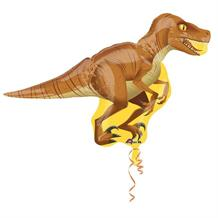 "Raptor | Dinosaur 40"" Shaped Foil 
