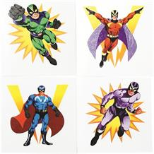 Superhero Party Bag Favour Tattoos