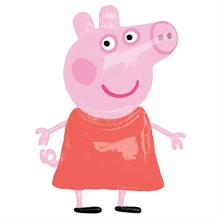 Peppa Pig Giant 4ft Airwalker Helium Balloon