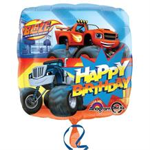 "Blaze & the Monster Machines Happy Birthday 18"" Foil 