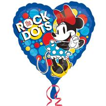 "Minnie Mouse Rock the Dots 18"" Foil 
