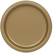 Gold Big Value Catering Party Cake Plates (Bulk)