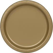 Gold Big Value Catering Party Plates (Bulk)
