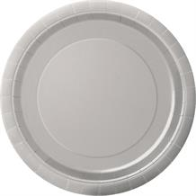 Silver Party Plates