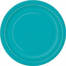 Teal Blue Party Plates