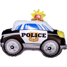 Police Car Siren Shaped Foil | Helium Balloon
