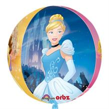 Disney Princesses Orbz | Sphere Foil | Helium Balloon