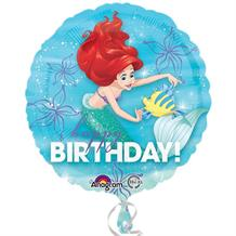 "Ariel the Little Mermaid Happy Birthday 18"" Foil 