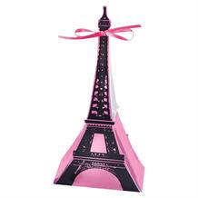 A Day in Paris Eiffel Tower Party Card Favour Box