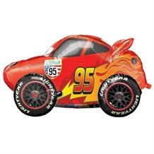 Cars Lightning McQueen Giant Shaped 3ft Foil | Helium Balloon