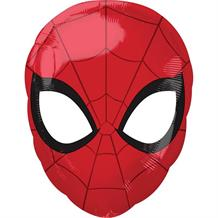 "Marvel Spiderman Head Shaped 18"" Foil 