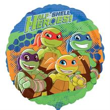 "TMN Turtles Half-Shell Heroes 18"" Foil 