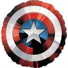 Captain America | Shield Supershape Foil | Helium Balloon