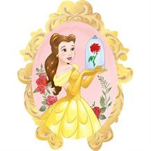 Disney Princess Belle | Beauty and the Beast Shaped Foil | Helium Balloon