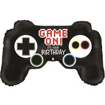 "Game Controller Shaped 36"" Foil 