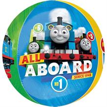 Thomas and Friends All Aboard Orbz | Sphere Foil | Helium Balloon