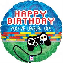 "Game Controller Happy Birthday 18"" Foil 