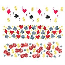 Casino Party Table Confetti | Decoration