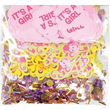 Jungle Animal It's a Girl Baby Shower Party Table Confetti | Decoration